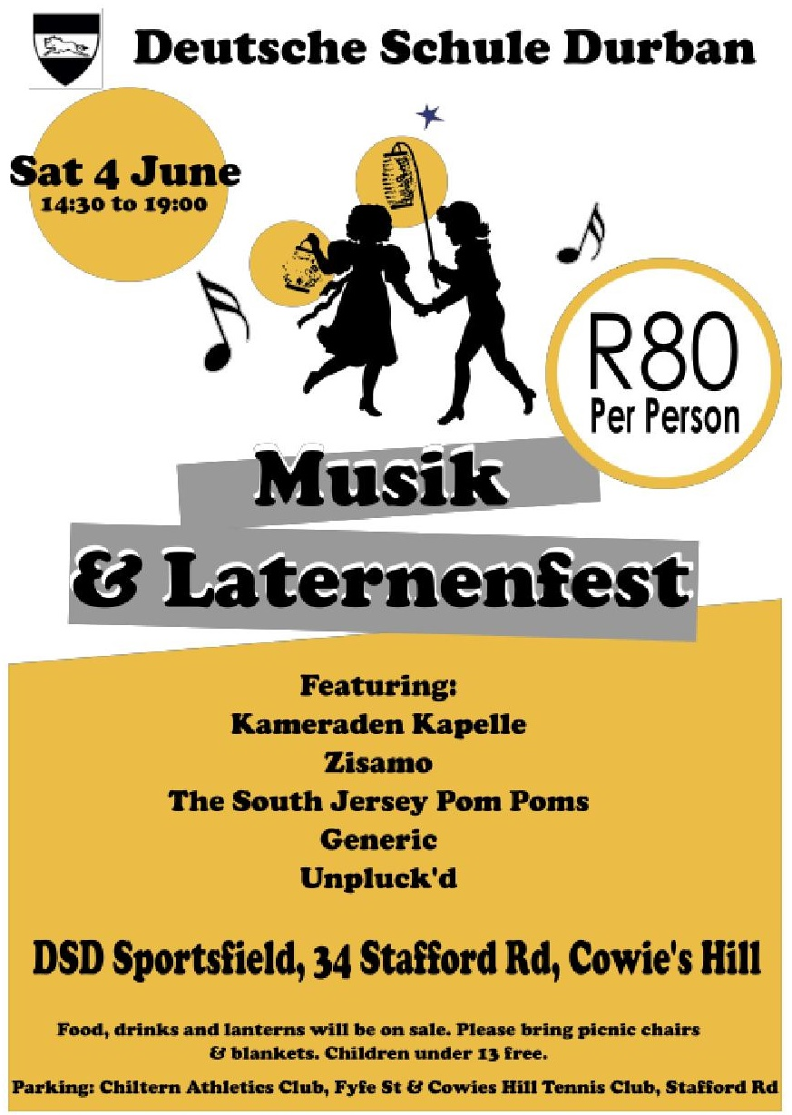 Musik  Laternenfest Flyer